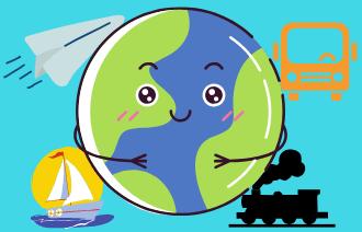 Logotipo de viaja planeta