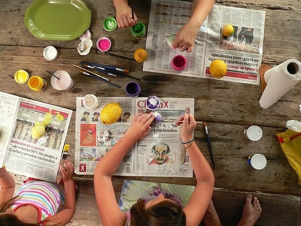 Actividades para hacer con niños en cuarentena
